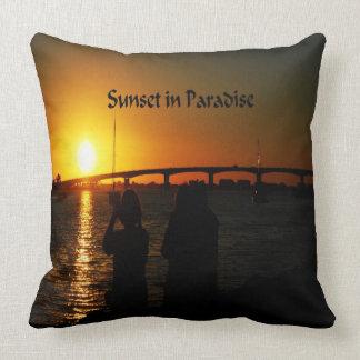 Schöner Virginia-Sonnenuntergang Kissen