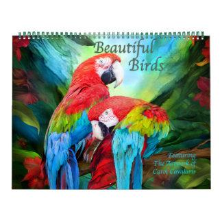 Schöner Vogel-Kunst-Kalender Kalender
