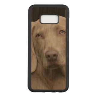 Schöner Weimaraner Jagd-Hund Carved Samsung Galaxy S8+ Hülle