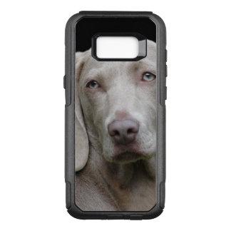 Schöner Weimaraner Jagd-Hund OtterBox Commuter Samsung Galaxy S8+ Hülle