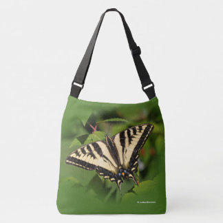 Schöner Western-Tiger-Frack-Schmetterling Tragetaschen Mit Langen Trägern