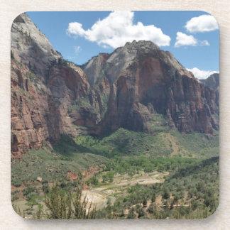 Schöner Zion Nationalpark Getränkeuntersetzer