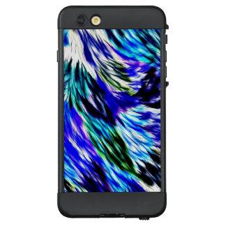 Schönes abstraktes blaues Grün-weißes lila Muster LifeProof NÜÜD iPhone 6 Plus Hülle
