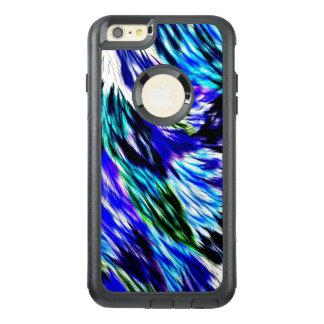 Schönes abstraktes blaues Grün-weißes lila Muster OtterBox iPhone 6/6s Plus Hülle