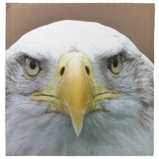 Schönes Adlerporträt Serviette