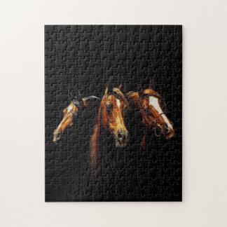 Schönes arabisches Pferdepuzzlespiel Puzzle