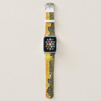 Schönes Bachforelle-Fliegen-Fischen Apple Watch Armband