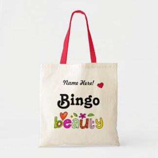 Schönes Bingo personifizieren Budget Stoffbeutel