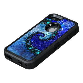Schönes blaues Notturno der OtterBox iPhone 5/5s/SE Hülle