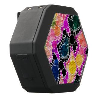 Schönes Bling abstraktes Muster Schwarze Bluetooth Lautsprecher