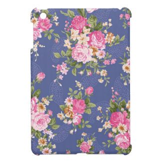 Schönes Blumenmuster iPad Mini Cover