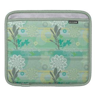 Schönes botanisches sleeve für iPads