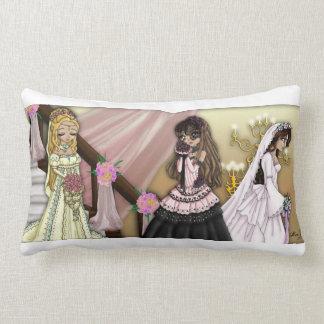 Schönes Braut-Kissen Lendenkissen