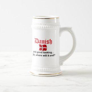 Schönes Dänische Bierglas