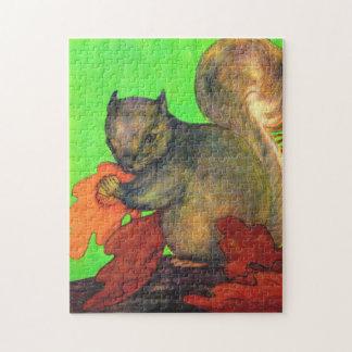 schönes Eichhörnchen Puzzle
