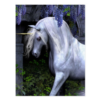 Schönes Einhorn Postkarte