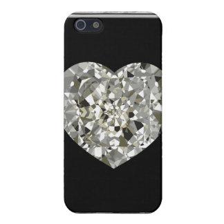 Schönes Herz des Kastens der Diamant-iPhone4 iPhone 5 Schutzhülle