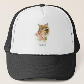 """Schönes"""" Hundegedanken-T-Shirt durch Diane Heller Truckerkappe"""