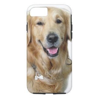 Schönes Hundegolden retriever und Ihr Knochen iPhone 8/7 Hülle