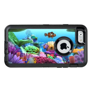 Schönes korallenrotes Glück für Iphones OtterBox iPhone 6/6s Hülle