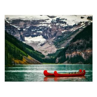 Schönes Lake Louise, Kanada Postkarte