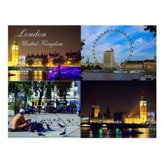 Schönes London, BRITISCHE Postkarte