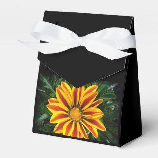 Schönes orange Sun-Blumen-Foto Geschenkschachtel
