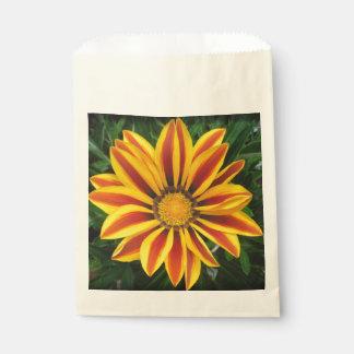 Schönes orange Sun-Blumen-Foto Geschenktütchen