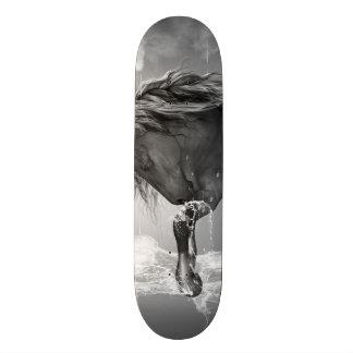 Schönes Pferdetrinkwasser 19,7 Cm Skateboard Deck