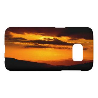 Schönes Sonnenuntergang-Foto