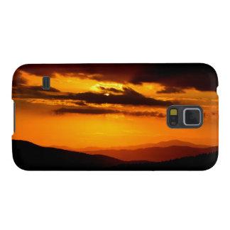 Schönes Sonnenuntergang-Foto Samsung S5 Cover