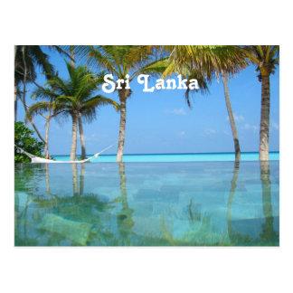 Schönes Sri Lanka Postkarte