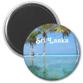 Schönes Sri Lanka Runder Magnet 5,7 Cm