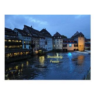 Schönes Straßburg, Frankreich Postkarte