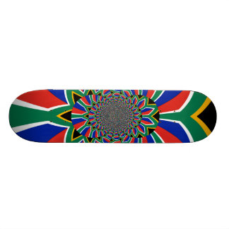 Schönes Südafrika-Flagge Skateboard Individuelle Skateboards