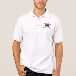 Schönes südafrikanisches polo shirt