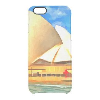 Schönes Sydney-Opernhaus Durchsichtige iPhone 6/6S Hülle