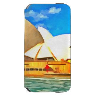 Schönes Sydney-Opernhaus Incipio Watson™ iPhone 6 Geldbörsen Hülle