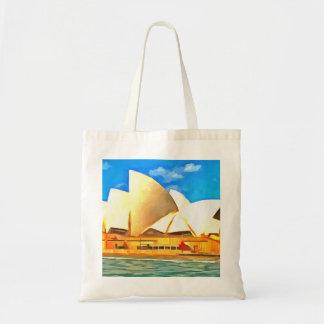 Schönes Sydney-Opernhaus Tragetasche
