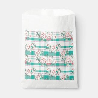 Schönes Vintages Blumen-Rosen-Muster Geschenktütchen