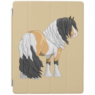 Schönes Wildlederpinto-Sinti und Roma Vanner iPad Hülle