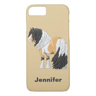 Schönes Wildlederpinto-Sinti und Roma Vanner iPhone 8/7 Hülle