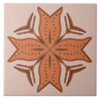 Schönes wulstiges Quermotiv Keramikfliese
