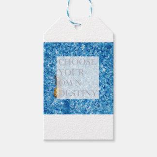 Schönes Zitat des stilvollen Feiertags Geschenkanhänger