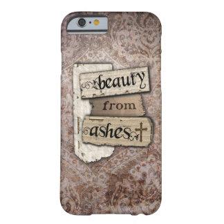 Schönheit Aschen-vom christlichen Damast-Schrott Barely There iPhone 6 Hülle