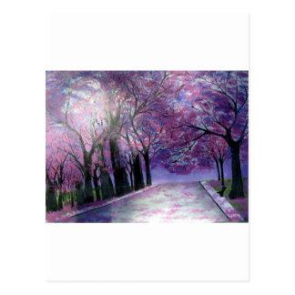 Schönheit Fleur Postkarte