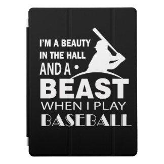 Schönheit in Hall-Tier wenn Spiel-Baseball iPad Pro Hülle
