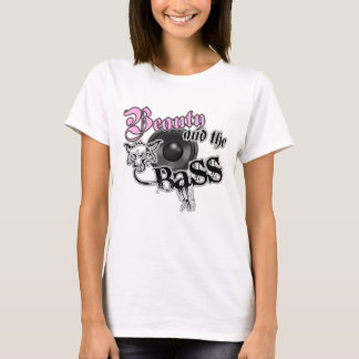 Schönheit und die BASS-Trance-Electro techno Rave T-Shirt