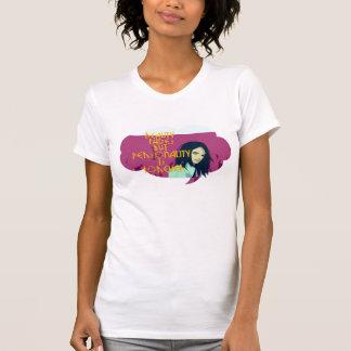 Schönheit verblaßt Persönlichkeit ist Forever T-Shirt