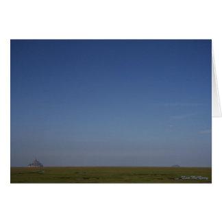 Schönheit von Normandie Karte
